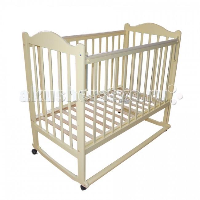 Детская кроватка Ивашка Мой малыш 5 (колесо-качалка)