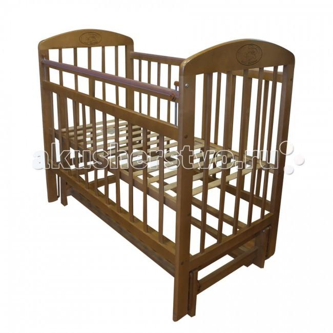 Детская кроватка Ивашка Мой малыш 9 (маятник продольный)