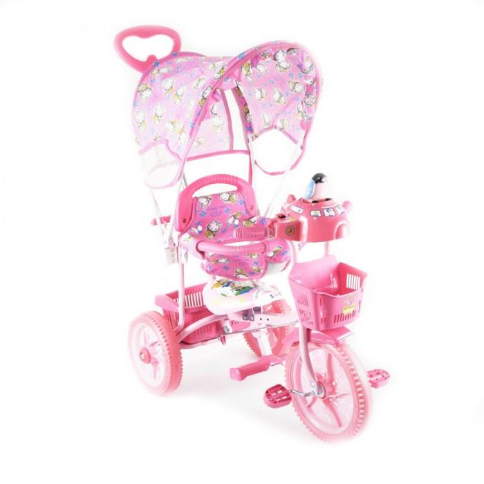 Велосипед трехколесный Jaguar MS-0737MS-0737Трехколесный велосипед Jaguar MS-0737 для детей на возраст от 6 месяцев до 2 лет.  Комплектация: Тент Музыкально-световая кнопка Увеличенные колеса Ручка управляющая передним колесом Мягкая резина Корзинка 2 шт. Страховочный обод и сетка Подножка Регулировка седла. Габариты в упаковке (ШхДхВ) 44х62х28 см Длина велосипеда 75 см; Ширина велосипеда 45 см; Высота велосипеда 90 см; Вес товара 8 кг Диаметр задних колес 23 см Диаметр переднего колеса 28 см<br>