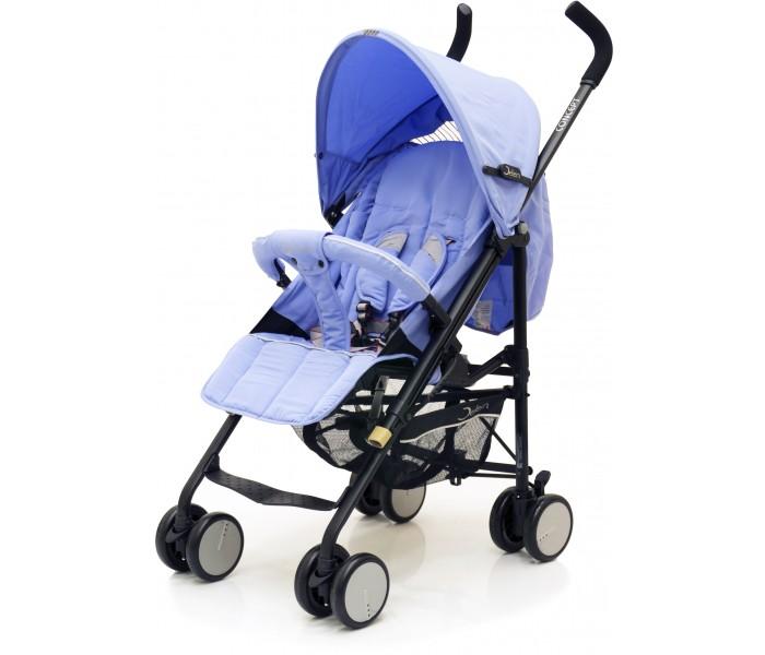 Коляска-трость Jetem ConceptConceptВ чудесной коляске Concept от Jetem Вашему малышу будет комфортно, а Вам будет удобно ей управлять. Особенности:  Облегченная рама.  Жесткая спинка с плавно регулируемым наклоном в 3 положения.  Двойные плавающие передние колеса с фиксацией. Корзина для вещей.  Чехол на ножки.  Большой капюшон с окошком для мамы опускается до бампера.  Бампер с мягкой обивкой.  Складывается одной рукой.  Очень компактна и устойчива в сложенном виде.  Удобна для транспортировки и хранения.  Коляска комплектуется: Чехлом на ножки.  Размеры:  Диаметр колес 12,5 см,  Размеры спального ложа - 34х84 см.  Расстояние до сиденья от пола - 40 см.  Размеры в сложенном виде - 25х100 см.  Вес 6 кг  Вес упаковки - 9,3 кг.  Размер упаковки - 19,5х28х100 см.  Рекомендована для детей от 0,5 до 4-х лет (18 кг.) Размер посадочного места:(ШхГ) 36х20 см Ширина задней оси 53 см<br>
