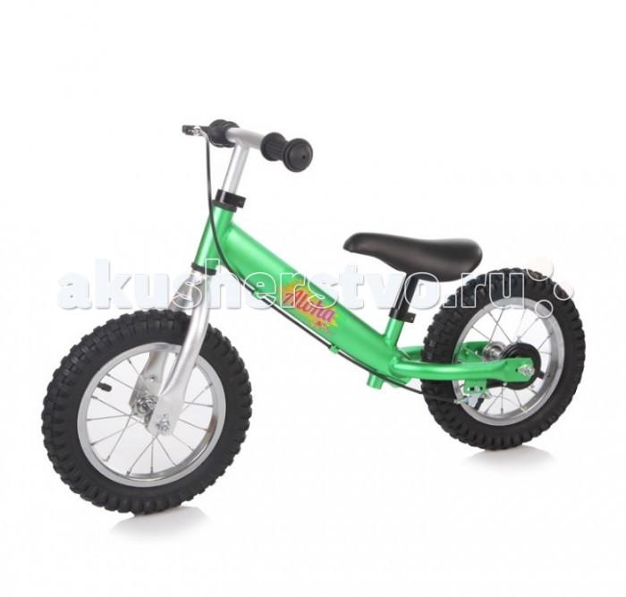 Беговел Jetem Aloha (с ручным тормозом)Aloha (с ручным тормозом)Беговел Jetem Aloha - это детские двухколесные велосипеды, у которых нет педалей. Они совмещают в себе черты велосипеда и самоката и помогают держать равновесие.   Особенности: 12 дюймовые колеса из металла с покрышкой из резины эргономичное сидение с мягкой накладкой алюминиевая рама с тормозом без подножки сиденье регулируется по высоте руль регулируется по высоте предназначен для детей от 3 лет до 27 кг размер велосипеда: 88х38х56 см минимальная высота сиденья от земли 31 см максимальная высота сиденья от земли 41 см минимальная высота руля от земли 50 см максимальная высота руля от земли 58 см<br>