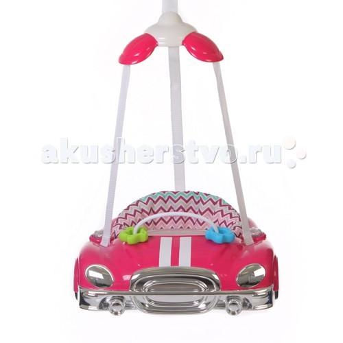 Прыгунки Jetem AutoAutoПрыгунки AUTO - это целый игровой центр с мелодией и световыми клавишами.  Характеристики:    Игровой центр с мелодией и световыми клавишами  Мягкий материал сидения легко снимается и стирается  Широкая рама служит для поддержки и защита  Крепление ремня в трех местах облегчает посадку ребенка  Прикрепляются к верхнему косяку двери  Регулируемые по росту и весу малыша ремешки  Для детей от 4-х месяцев и до 11кг.<br>