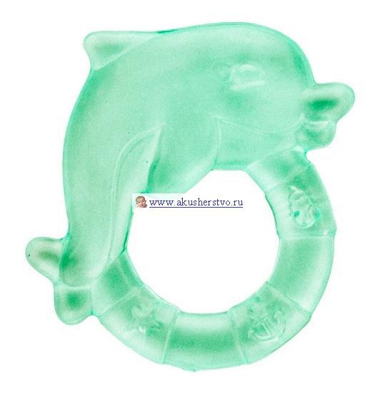 Прорезыватель Canpol Дельфин охлаждающий 2/221Дельфин охлаждающий 2/221Прорезыватель Canpol выполнен из мягкого и в тоже время прочного пластика и наполнен дистиллированной водой. Перед использованием рекомендуется поместить прорезыватель в холодильник.   Рекомендации: Прорезыватель следует регулярно мыть в теплой мыльной воде губкой или щеткой, затем тщательно сполоснуть, обдать кипятком (не кипятить и не стерилизовать!). Охлаждать в холодильнике (не замораживайте в морозилке!).<br>