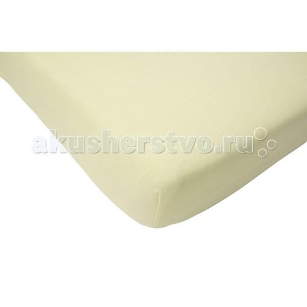 Jollein Простынь на резинке Jersey 40х90 см