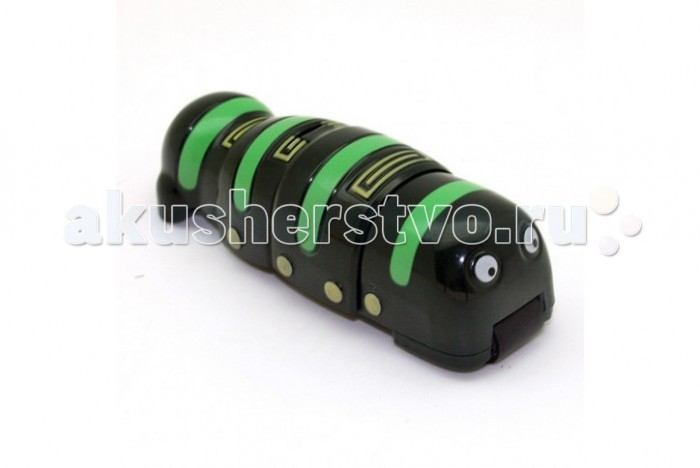 Интерактивная игрушка JoyD робот-червь RCR-011 Покоритель металларобот-червь RCR-011 Покоритель металлаИнтерактивная игрушка JoyD робот-червь RCR-011 Покоритель металла. Имитирует движения жука, ползает по металлическим поверхностям.    Движение происходит за счет механизма, работающего от батареек питания типа LR44, а удерживаться на наклонной или вертикальной поверхности червячок может за счет магнита, находящегося в корпусе игрушки.<br>