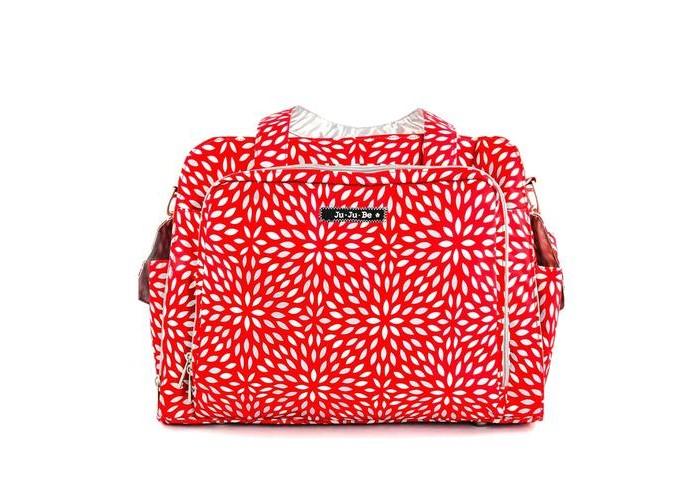 Ju-Ju-Be Дорожная сумка Be PreparedДорожная сумка Be PreparedПоездка на дачу, к бабушке, длительный перелет, хотите взять побольше вещей? Правильный выбор сумки! Двое малышей? Для Вас специальная сумка к коляске для двойни! Один малыш? Вам нужна большая дорожная сумка для мамы? Тогда это самый удачный выбор - дорожная сумка Ju-Ju-Be Be Prepared! Функциональные особенности сумки Ju-Ju-Be Be Prepared:  Большое основное отделение с 5 дополнительными сетчатыми карманами для подгузников, влажных салфеток, кремов, бутылочек и прочих вещей  Удлиненные молнии по бокам позволяют быстро и легко открыть сумку до самого основания  Боковой карман для мамы с легким доступом: ремешок-резинка для ключей(теперь вы знаете, где ваш ключ, не надо искать по всей сумке), кармашки для соски, мобильного телефона, документов, очков и прочих вещей  Отдельный боковой карман с ковриком для пеленания  Два внешних закрывающихся термокармана для бутылочек с утеплителем Thinsulate позволяет длительно сохранять температуру детского питания и напитков  Карманы и подкладка двух разных цветов, чтобы Вы могли разместить в сумке все необходимое, при этом иметь возможность быстро и легко найти и достать нужную вещь  Удобный регулируемый ремень со специальной накладкой, принимающий форму плеча  Две дополнительные короткие ручки, которые можно легко убрать, если они не используются  Удобное, надежное и безопасное крепление сумки к коляске, позволяющее быстро одеть и снять сумку  Клипсы-крепления к коляске продаются отдельно  Оптимальный размер позволяет вешать дорожную сумку для мамы Be Prepared, как на обычную коляску, так и на коляску для двойни  Размер (дхвхш): 47 x 35 x 16,5 см<br>
