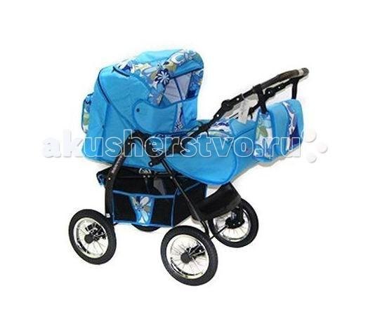 Коляска-трансформер Kacper SoterroSoterroДетская коляска трансформер Kacper Soterro (надувные колеса) подарит действительно комфортные прогулки, поскольку она спроектирована с учетом всех требований безопасности, а также снабжена всем необходимым для хороших и уютных прогулок. В комплект входит люлька-переноска с жестким дном, которая подходит для деток от 0 до 6 месяцев, а также прогулочный блок, в котором можно перевозить детей старше 6 месяцев.  Жесткое дно люльки обеспечивает максимально удобное положение позвоночника ребенка, а регулировка спинки дает возможность расположить малыша максимально удобно. Высота перекидной ручки может меняться, а подножка дает возможность снизить нагрузку на ноги. Плавное катание на различном рельефе обеспечивает система амортизации. А пятиточечные ремни безопасности позволяют удержать ребенка в коляске.   Особенности: колеса надувные амортизация-пружины надежная тормозная система регулируемая спинка (три положения) пятиточечные ремни безопасности на каждом посадочном месте удобная перекидная ручка подножка регулируется по высоте пристегиваемый поручень вентиляционные окна 100% х/б ткани с водоотталкивающей пропиткой  Комплектация: люльки-переноска для новорожденного (жесткое дно)  водонепроницаемый чехол на ножки сумка для детских мелочей корзина для покупок москитная сетка дождевик  Вес коляски: 15 кг<br>
