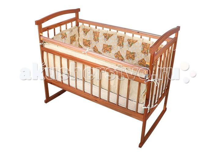 Бампер для кроватки Карапуз 125-КИ от Акушерство