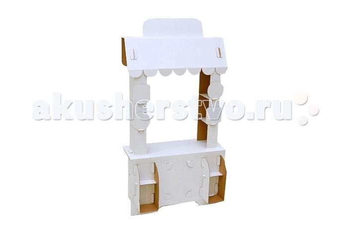 Игровой домик Картонный папа из картона Кафе Сковородка от Акушерство
