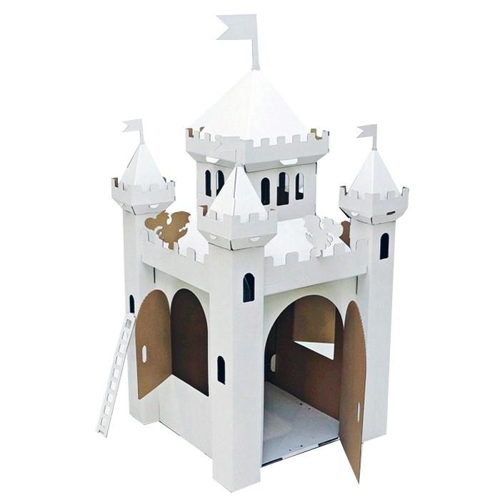 Игровой домик Картонный папа из картона Сказочный замок