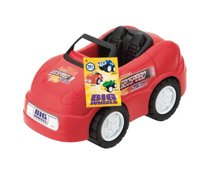 Keenway Машинка ВоротилыМашинка ВоротилыМашинка Воротилы, с удовольствием пополнит автопарк вашего ребенка. Машинка с большими колесами, способна проехать по любой поверхности. Она очень подвижна и быстро ездит если ее толкнуть. В кузове можно перевозить небольшие предметы, а в кабину посадить какого - нибудь водителя, и можно весело играть. При изготовлении игрушки применяются прочные и нетоксичные материалы, гарантирующие безопасность ребенка и продолжительный срок службы. Форма игрушки специально разработана так, что не содержит острых углов и мелких деталей, поэтому невозможно нанесение вреда ребенку.  Характеристики: Размер упаковки: 26,67 х 15,24 х 18,42 см Размер машины: 26 х 15,5 х 20 см Материал: пластик Питание: батарейки типа АА 1,5V LR6 (пальчиковые) – 2шт<br>
