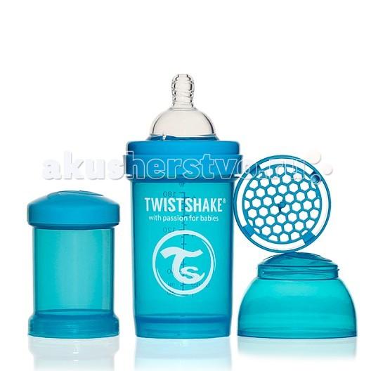 Бутылочка Twistshake с контейнером 180 мл