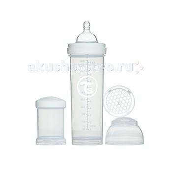 Бутылочка Twistshake с контейнером 330 мл