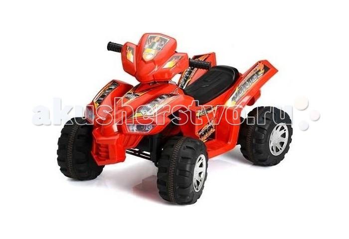 Электромобиль Kid Car ДжейСиДжейСиKid Car ДжейСи - детский квадроцикл на аккумуляторе HD8068. Для детей от 3-х до 7 лет.   Характеристики: предназначен для детей от 3-х до 7 лет скорость: 3.5-4.5 км/ч аккумулятор: 6V7AHх2, 2 двигателя 1 посадочное место колеса пластик и резина газ и тормоз совмещены в одной педали (нажатие-газ, отпускание педали - тормоз) яркий дизайн максимальная нагрузка: 30 кг  В комплекте: аккумулятор зарядное устройство  Размеры (дхшхв) 92x60.5x61.5 см Вес 9.8 кг  Электромобили Kid Car имеют стильный, яркий дизайн, выполнены из качественных, надежных материалов и очень похожи на настоящие машины. За рулем электромобиля ребенок чувствует себя самостоятельным и взрослым. Ассортимент продукции Kid Car довольно широк, в зависимости от потребностей и предпочтений можно выбрать одно- или двуместные электромобили, со световыми эффектами, моргающими фарами, музыкой, звуковыми сигналами, имитирующими рев мотора, звук тормозов и т.п.   Детский электромобиль будет замечательным подарком, как для мальчика, так и для девочки. Безопасность, надёжность, простота в управлении позволят родителям быть спокойными за своих детей, а детям наслаждаться бесценными впечатлениями от езды на собственном автомобиле!<br>