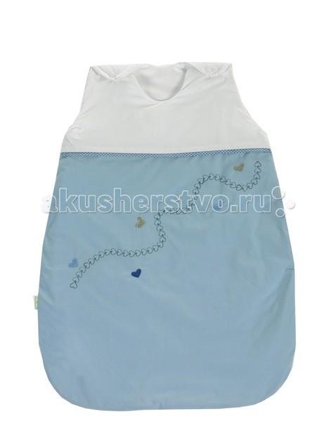 Спальный конверт Kidboo LocomotiveLocomotiveСпальный мешок серии Locomotive от известной марки Kidboo - заменитель одеяла. Он представляет собой «сумку» на расстегивающихся бретельках и без рукавов с застежкой-молнией. Он предназначен для того, чтобы укрывать деток вместо одеяла – этим «спальник» позволяет укрыть даже самых беспокойных и часто раскрывающихся малышей.  Размеры: 70х90х110см<br>