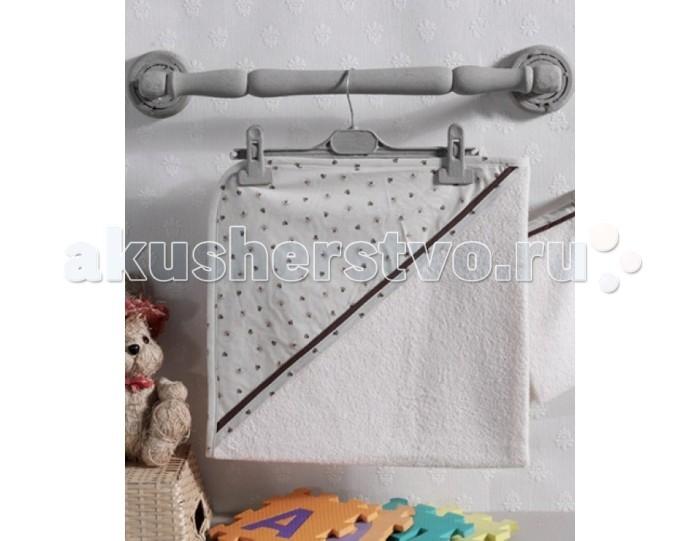 Kidboo Комплект полотенце-уголок + варежка Cute Bear