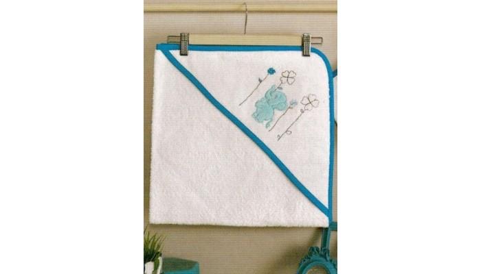 Kidboo Комплект полотенце-уголок + варежка Elephants