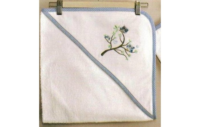 Kidboo Комплект полотенце-уголок + варежка Sweet Home