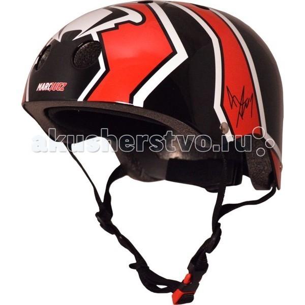 Kiddi Moto Шлем Marc Marquez с автографом гонщика