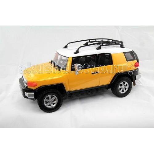 KidzTech А/М 1:16 Toyota FJ CruiserА/М 1:16 Toyota FJ CruiserKidzTech А/М 1:16 Toyota FJ Cruiser - радиоуправляемая модель Toyota FJ Cruiser, сделанный в масштабе 1:16 по официальной лицензии настоящего производителя, станет отличным подарком для Вашего малыша. Большая машинка, которой можно дистанционно управлять – что может быть лучше! С ней Вы проведете множество незабываемых мгновений.  Даже темное время суток не станет помехой для этой машинки - ее яркие фары отлично осветят сложные участки на пути.  В комплекте: радиоуправляемый автомобиль, пульт дистанционного управления, антенна, инструкция на русском языке.  Для работы машинки требуется 6 батареек типа 1,5V АА, которые продаются отдельно. Для работы пульта требуется 1 батарейка 9V.<br>