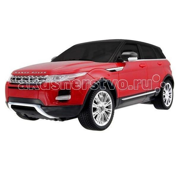 KidzTech Машинка на радиоуправлении Range Rover Evoque 1:12Машинка на радиоуправлении Range Rover Evoque 1:12KidzTech Машинка на радиоуправлении Range Rover Evoque 1:12 - уменьшенная копия на радиоуправлении автомобиля Range Rover Evoque в масштабе 1:12 .   Эта стильная модель известного джипа придется по вкусу как ребенку, так и взрослому ценителю автомобилей. Машинка отлично справляется с труднопроходимой местностью и способна развивать скорость до 8,5 км/ч.  Для работы вам понадобятся шесть батареек АА и одна батарейка 9V, батарейки в комплект не входят.  Масштаб: 1:12. Машинка развивает скорость до 8.5 км/ч Дальность действия пульта управления до 15 метров<br>