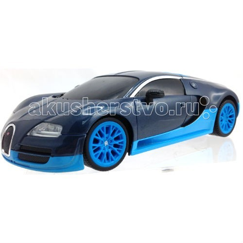 KidzTech Радиоуправляемый автомобиль 1:26 Bugatti 16.4 Super SportРадиоуправляемый автомобиль 1:26 Bugatti 16.4 Super SportKidzTech Радиоуправляемый автомобиль 1:26 Bugatti 16.4 Super Sport - лучший выбор для юных любителей дорогих моделей. Автомобиль выполнен в двух цветах: синий и оранжевый.   Автомобиль выполнен из высококачественных материалов, не токсичен и безопасен для здоровья Вашего ребенка.  Масштаб: 1:26  Длина модели: 18 см  Требуется: 3 батарейки типа АА (автомобиль), 1 батарейка типа 9V (пульт).  Частота: 27, 40 и 49 МГц  Для детей от 6 лет.<br>