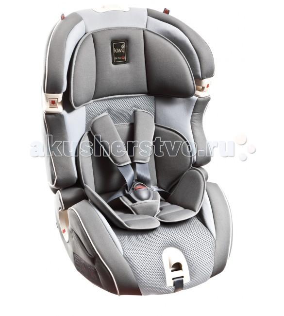 Автокресло Kiwy SLF 123 Q-FixSLF 123 Q-FixАвтокресло Kiwy SLF123 оснащено Sa-Ats системой, отличаются своим компактным и охватывающим дизайном, а также обшивкой, которая элегантно сочетается с системой безопасности и являет собой единое целое.  Разработанные сидения безопасности с элементами для тщательной защиты головы, бедер и ног, идеально подходят тем, кто не желает идти на компромисс с точки зрения безопасности.  Особенности: Устанавливается в машине как с помощью системы ISOFIX плюс штатный ремень, так и только штатным ремнем автомобиля. В автокресле ребенок фиксируется встроенными 5-ти точечными ремнями автокресла Мягкий комфорт - пакет для самых маленьких пассажиров уже входит в базовую комплектацию автокресла Пятиточечные, регулируемые по высоте в 8 положениях, ремни безопасности для надежной фиксации ребенка в автокресле Регулируемый по высоте и ширине подголовник для комфорта и дополнительной безопасности при боковых столкновениях Эргономичная спинка имеет 8 положений по высоте. Регулировка осуществляется одной рукой Широкое сидение и спинка для комфорта детей постарше или в зимней одежде Система боковой защиты SIP (Side Impact Protection) для защиты ребенка от боковых ударов Для того чтобы ребенок меньше потел, в подушке сидения и спинке используется пористый материал, похожий на пчелиные соты. Он способствует рециркуляции воздуха и предотвращает скопление на обивке автокресла избыточного тепла и влаги Износостойкая и грязеотталкивающая обивка не впитывает запахи. При ее производстве используются только экологически чистые, гипо аллергенные материалы Успешно прошло серию краш - тестов и получило одобрение по европейскому стандарту безопасности ECE 44/04  Характеристики: Высота: 68 - 83 см Ширина: 50 см Глубина: 48 см Вес: 8.5 кг<br>