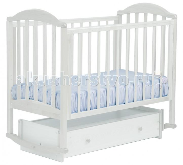 Детская кроватка Кубаньлесстрой АБ 17.4 Лилия Люкс универсальный маятник