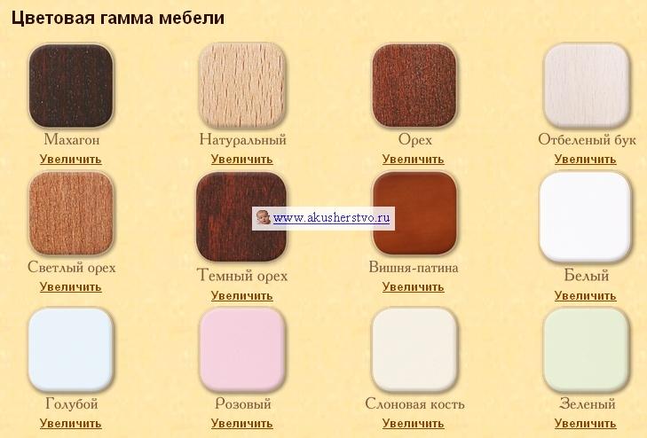 детские кроватки Кубаньлесстрой АБ 19.4 Жасмин маятник универсальный с ящиком