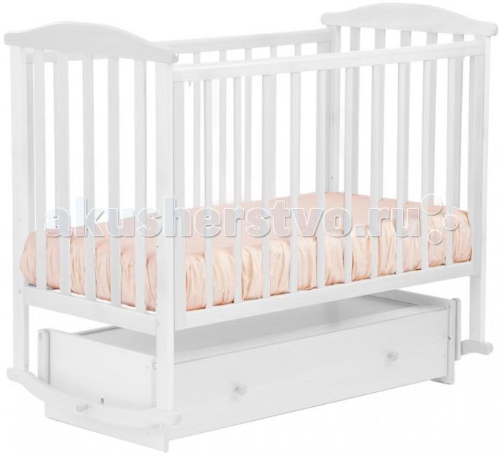Детская кроватка Кубаньлесстрой АБ 15.4 Лютик (маятник универсальный)
