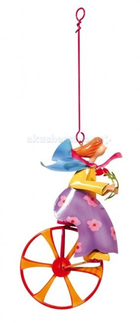 L'oiseau Bateau Triplette Подвесное украшение Девочка и цветок