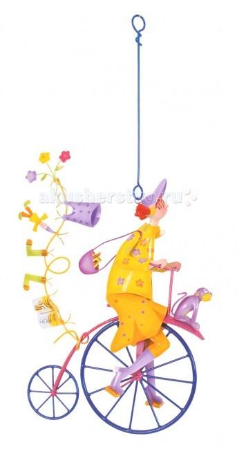 L'oiseau Bateau Triplette Подвесное украшение Девочка с обезьянкой