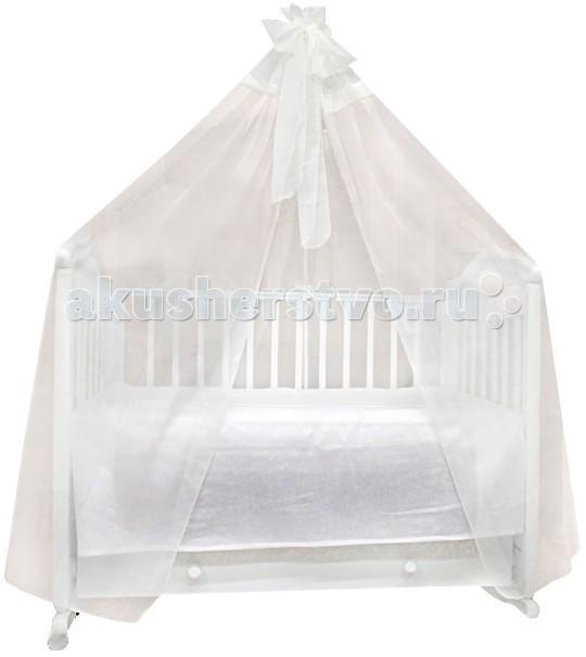 Балдахин для кроватки Labeille Вуаль 5203Вуаль 5203Балдахин Labeille украсит кроватку Вашего малыша, защитит его от укусов комаров и других насекомых, а также уменьшит попадание света для крепкого и здорового сна.  Подходит для всех стандартных держателей балдахина.  Продукция изготовлена из качественных материалов.  Размер 400х170 см.<br>