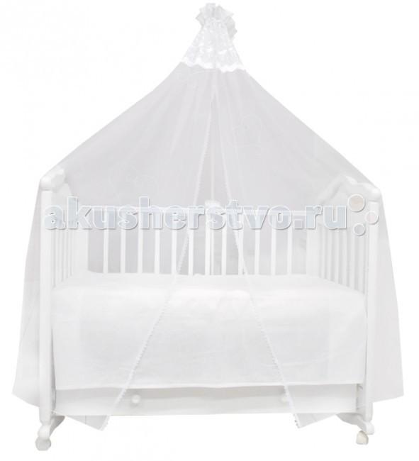 Балдахин для кроватки Labeille Сетка 5201Сетка 5201Балдахин Labeille украсит кроватку Вашего малыша, защитит его от укусов комаров и других насекомых, а также уменьшит попадание света для крепкого и здорового сна.  Подходит для всех стандартных держателей балдахина.  Продукция изготовлена из качественных материалов.  Размер 400х170 см.<br>