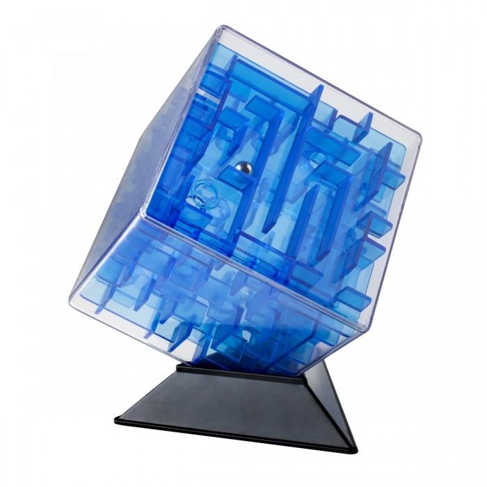 Labirintus Интерактивная головоломка Куб 10 смИнтерактивная головоломка Куб 10 смLabirintus Куб 10 см  Лабиринт из различных дорожек в прозрачном кубе ведет к цели металлический шарик, путем вращения прозрачной сферы в руках.   Игрушка, предназначенная развивать терпение, ловкость, память, моторику и пространственное мышление.<br>
