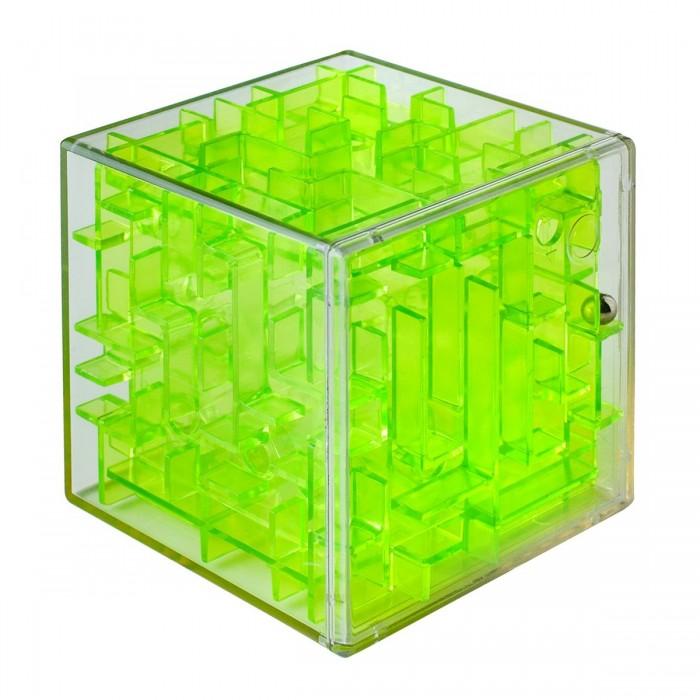 Labirintus Интерактивная головоломка Куб 6 смИнтерактивная головоломка Куб 6 смLabirintus Куб 6 см  Лабиринт из различных дорожек в прозрачном кубе ведет к цели металлический шарик, путем вращения прозрачной сферы в руках.   Игрушка, предназначенная развивать терпение, ловкость, память, моторику и пространственное мышление.<br>