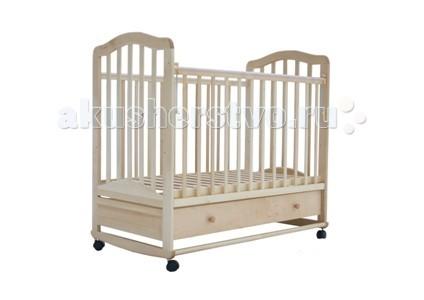 Детская кроватка Лаура 6 качалка с ящиком