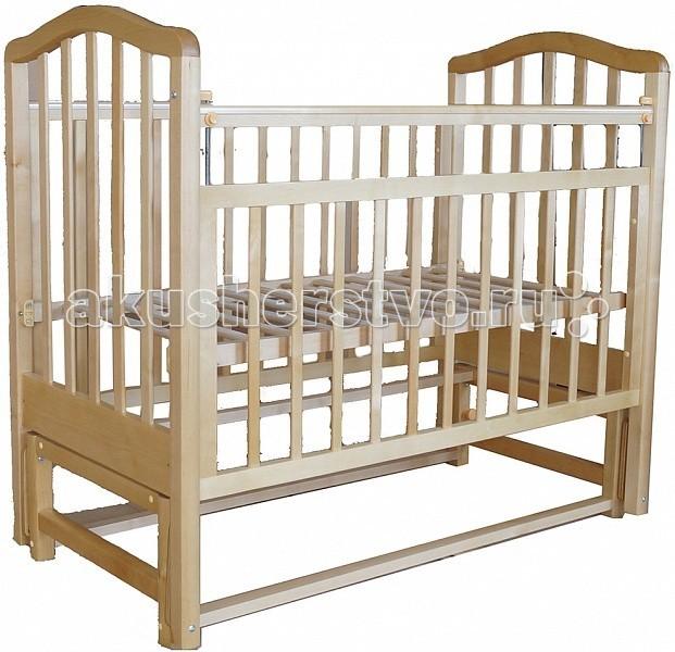 Детская кроватка Лаура 3 маятник поперечный