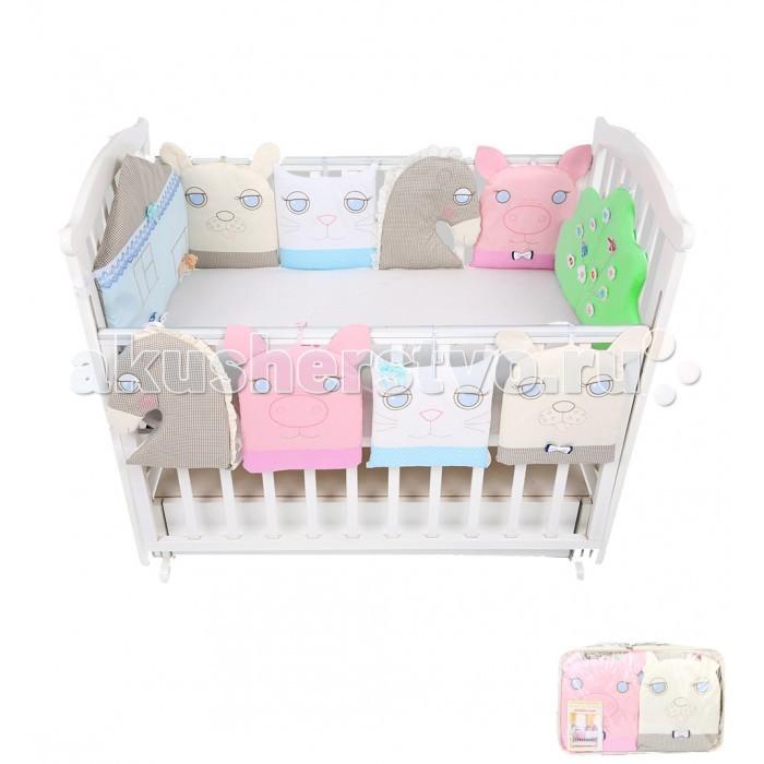 Бампер для кроватки Leader Kids Домашние животные