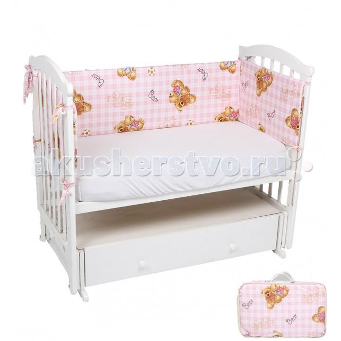 Бампер для кроватки Leader Kids Мишки на клетке от Акушерство