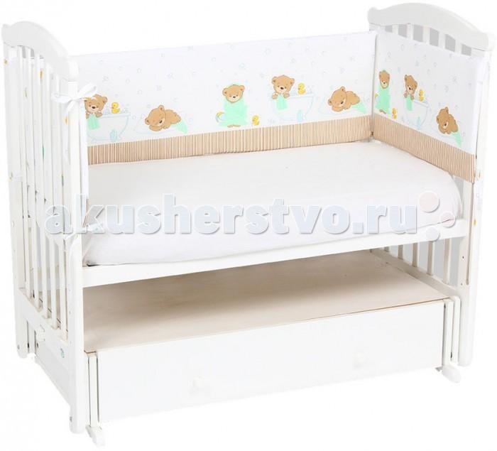 Бампер для кроватки Leader Kids Мыльные пузыри
