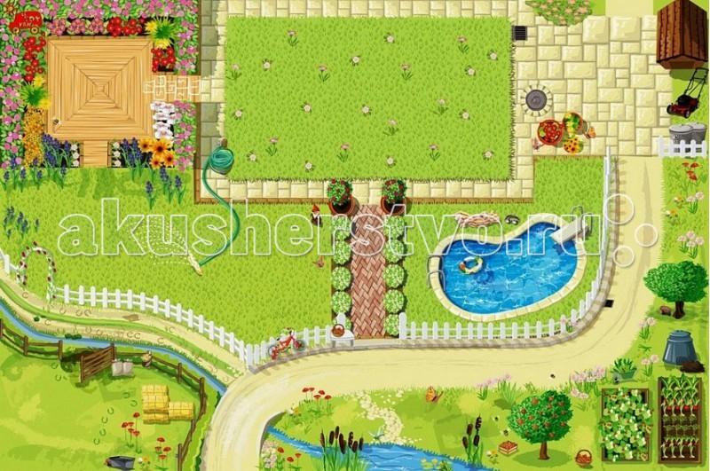 Игровой коврик LeToyVan Кукольный дом
