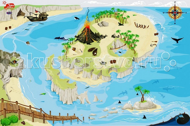 Игровой коврик LeToyVan Пират