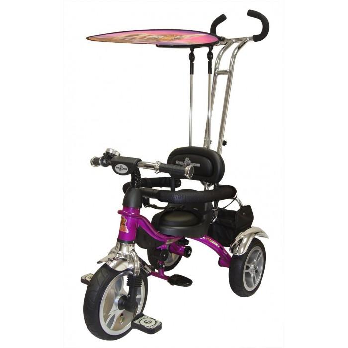 Велосипед трехколесный Lexus Trike Original Grand Air с надувными колесамиTrike Original Grand Air с надувными колесамиТрехколесный велосипед Original Grand Air с управляемой родительской ручкой и удобной корзинкой для игрушек. Регулируемый тент защищает малыша от солнца и дождя.  Рестайлинговая модель легендарного Grand. Теперь и с надувными колесами!   Характеристики: Улучшенная эргономика Тросики управления спрятаны в раме Складная подножка и тент как у модели Next, надувные колеса с красивыми дисками и стильным протектором Подшипники на колесах Удобные мягкие сиденья и спина Хромированные крылья на всех колесах Новый дизайн руля с пластиковой вставкой Новые педали с резиновыми противоскользящими полосками  Размеры (дхшхв): 90 х 53 х 102 см Вес: 9.8 кг<br>