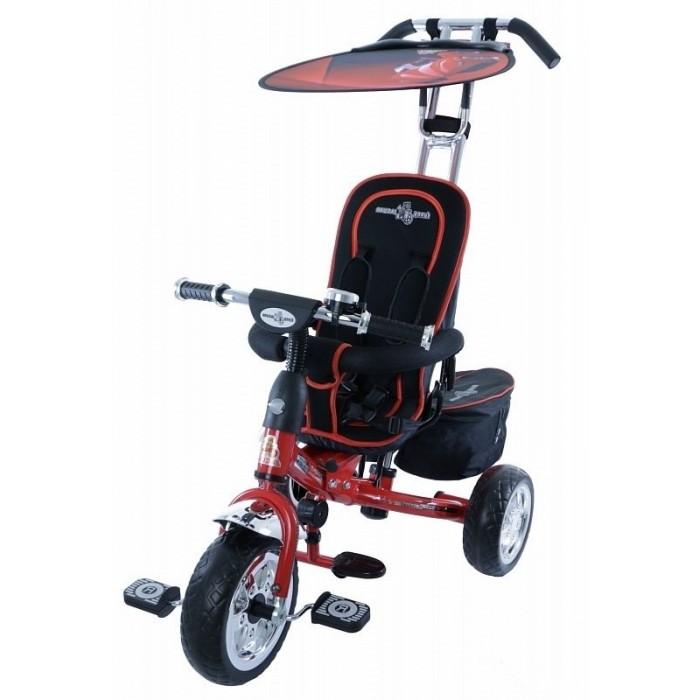 Велосипед трехколесный Lexus Trike Original Next EvoTrike Original Next EvoТрехколесный велосипед Original Next Evo с управляемой родительской ручкой и удобной корзинкой для игрушек. Регулируемый тент защищает малыша от солнца и дождя.   Характеристики: хромированная облегченная рама удобные, противоскользящие складывающиеся подножки мягкое сиденье, регулируемое относительно руля в трех положениях в зависимости от роста ребенка удобная и очень прочная родительская ручка управления, на нее можно опираться, она легко выдержит нагрузку взрослого человека легкий, складывающийся тент с фотопринтом защитит от дождя и солнца бампер-ограничитель для дополнительной безопасности малыша большие полиуретановые колеса диски цвета хром педали с рифлением сумочка для мелочей багажные корзины 2шт  Размеры (дхшхв): 90 х 53 х 102 см Вес: 9.4 кг<br>