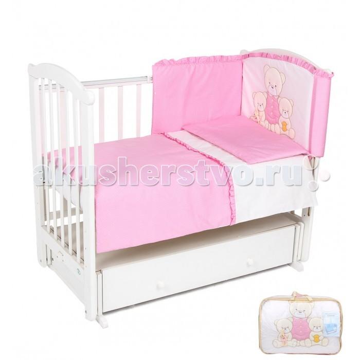 Комплект для кроватки Leader Kids Семья (7 предметов)