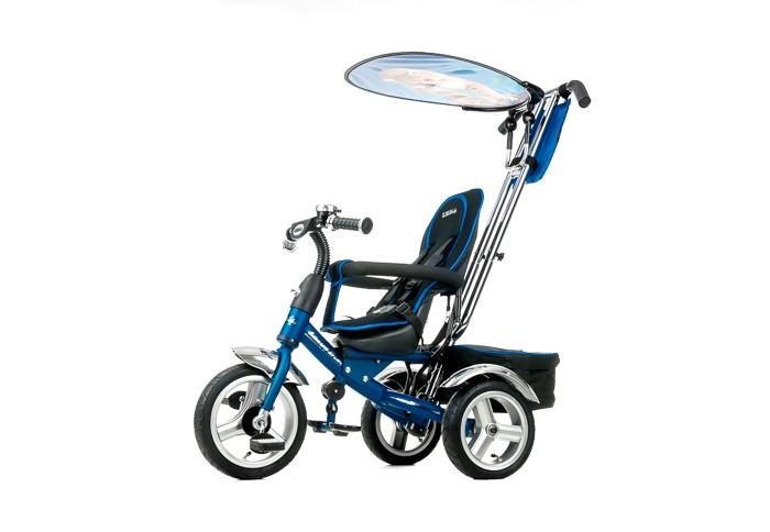 Велосипед трехколесный Liko Baby LB-778LB-778Трехколесный велосипед Lexus LB-778 с управляемой родительской ручкой и удобной корзинкой для игрушек. Регулируемый тент защищает малыша от солнца и дождя.   Характеристики: Прочная облегченная рама Ручка-держатель с приводом на руль Анатомическая сидение и спинка Поручень для рук, который также предотвращает нежелаемое выпадение ребенка из велосипеда Складывающаяся подставка для ног Надувные колеса из мягкой резины: накачиваются воздухом при помощи насоса Тент от дождя и солнца Два багажника для игрушек Мягкий чехол для сидения трехколесного велосипеда  В Комплекте: Задняя корзина Клаксон<br>