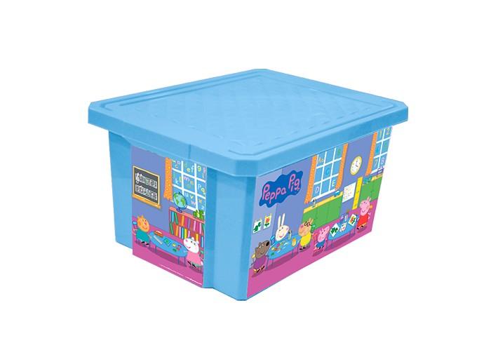 Little Angel Ящик для хранения игрушек X-Box Свинка Пеппа 17 лЯщик для хранения игрушек X-Box Свинка Пеппа 17 лЯщик для хранения игрушек X-Box Свинка Пеппа 17 л  В этом ящике можно разместить все, что угодно: детские игрушки или одежду.   При необходимости его можно убрать под кровать или дополнить им интерьер детской комнаты. С нашим ящиком ребенка легко приучить к порядку.   Универсальный ящик для хранения, декорированный с помощью технологии In Mould Labeling (IML). Теперь наш ящик - привлекательный элемент интерьера, а не просто функциональное изделие. Декор ящика износоустойчив, его можно мыть без опасения испортить рисунок.   Изготовлен из экологически чистого пластика.  Размеры: Литраж 17 л Ширина 305 мм Длина 405 мм Высота 210 мм<br>