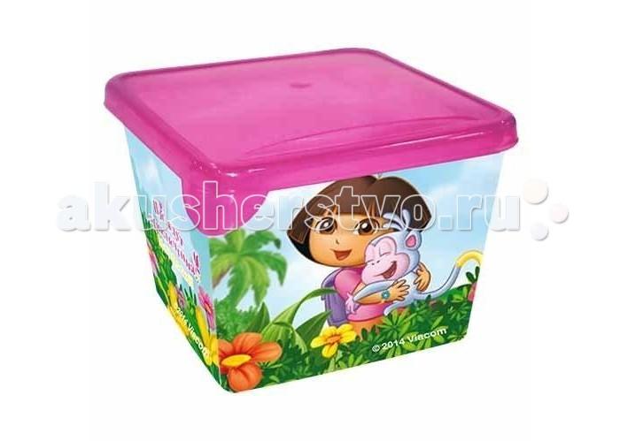 Little Angel Ящик для хранения мини Даша-путешественница 0.75 л