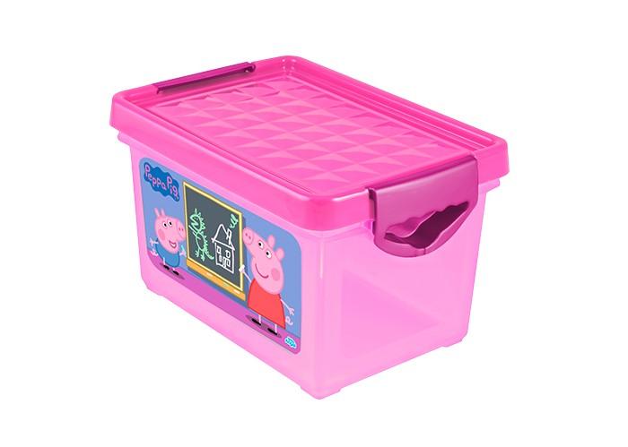 Little Angel Ящик для хранения мини X-Box Свинка Пеппа 5.1 л